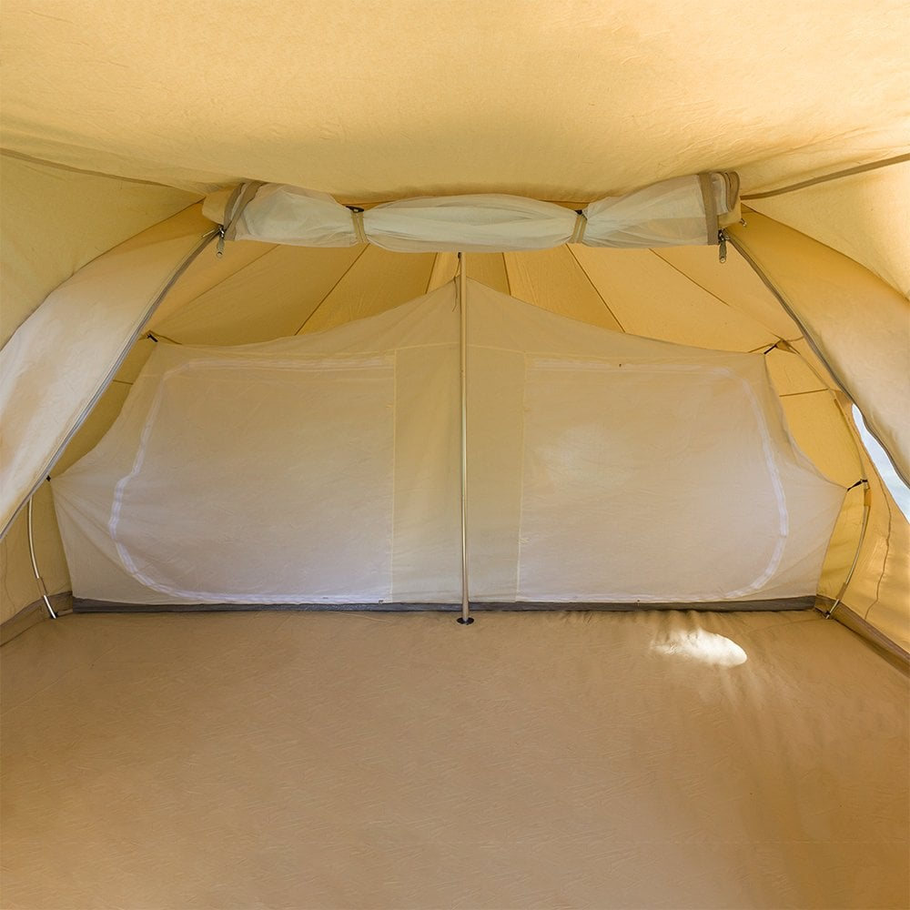 bell tent compartment