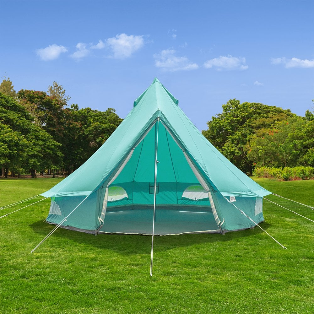 Sky Blue Bell Tent | Boutique Camping
