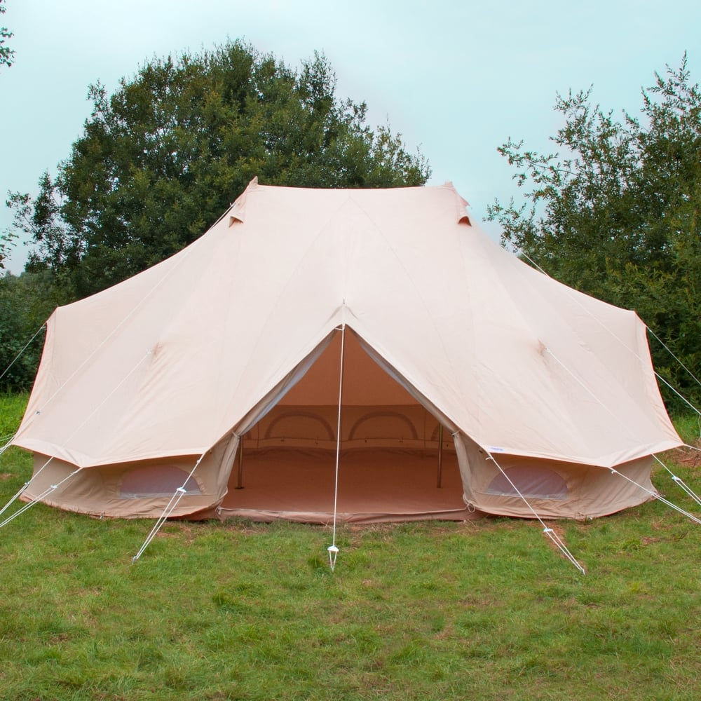 Boutique C&ing Tents The Emperor Bell Tent - 19.5ft (6m) & The Emperor Bell Tent